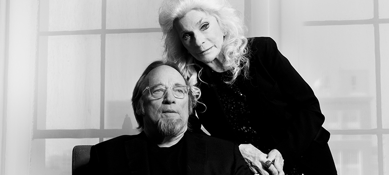 Image of Judy Collins and Stephen Stills