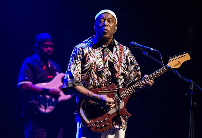 Buddy Guy performing at The Smith Center
