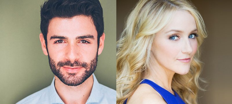 Image of Adam Kantor and Betsy Wolfe