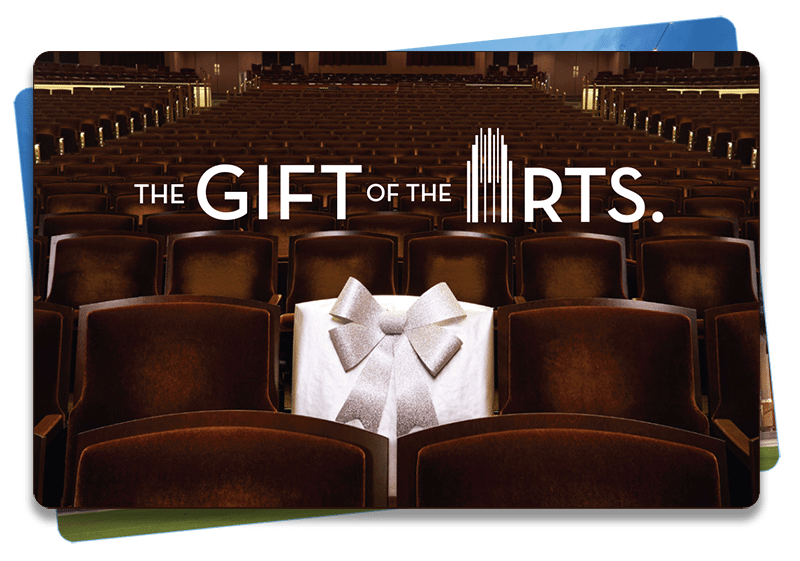 A picture of a Smith Center gift card