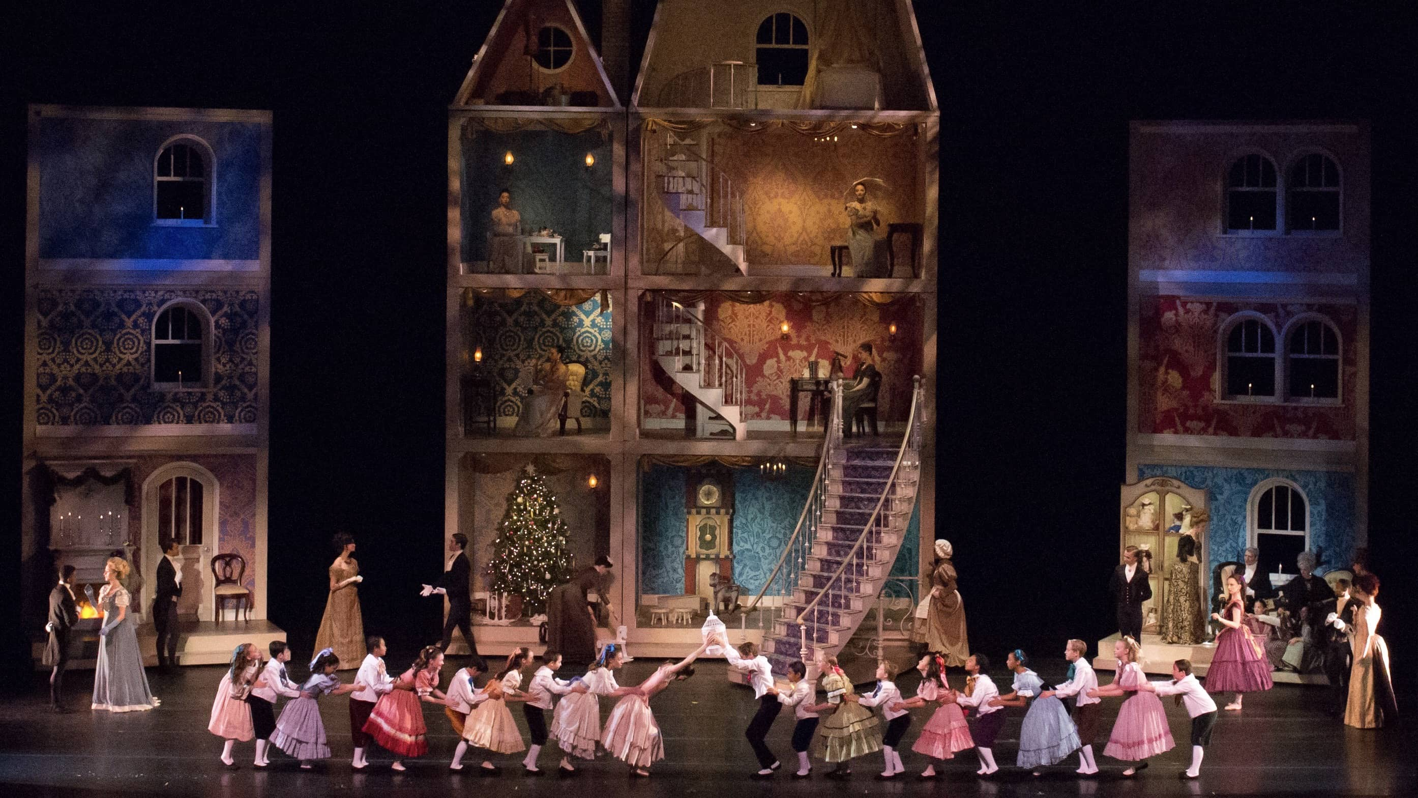 Nevada Ballet Theatre Presents Its Annual Production Of The Nutcracker Choreographed By James Canfield. Photo By Virginia Trudeau