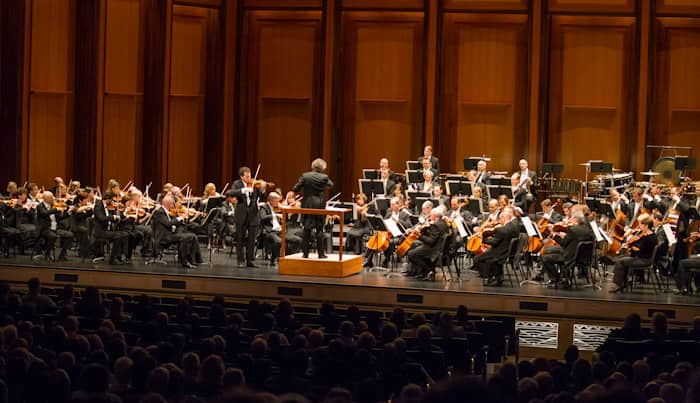 Cleveland Orchestra performing at The Smith Center
