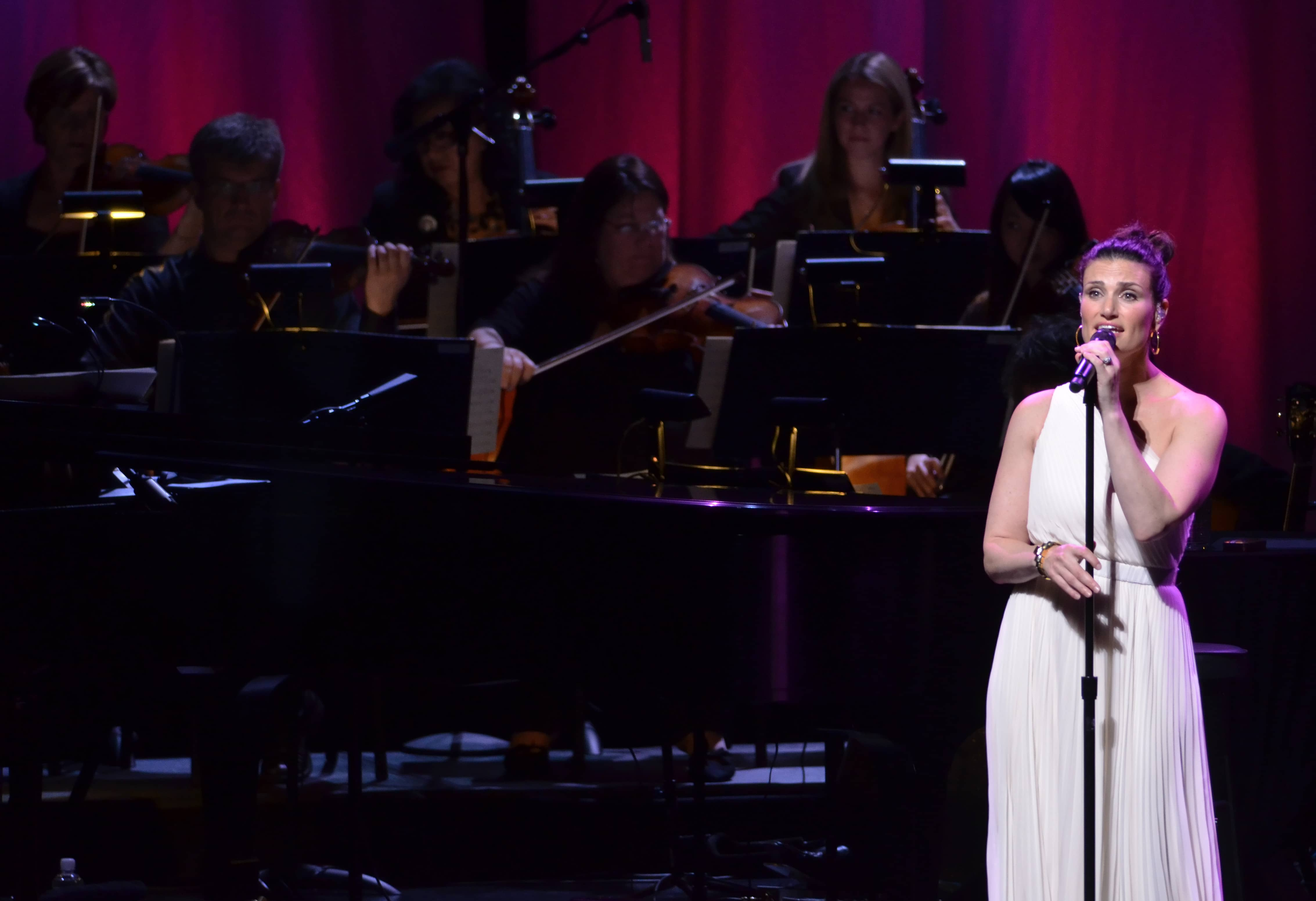 Idina Menzel performing at The Smith Center