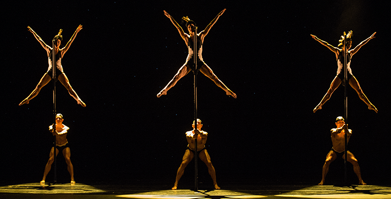Image of Momix dancers on stage